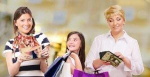 ショッピング,笑顔
