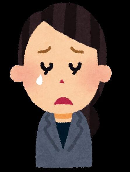 泣き顔(女性)