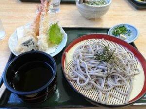 そば道場美津島店の蕎麦