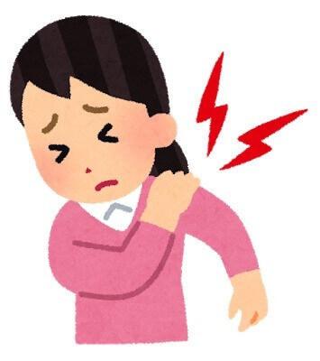 肩の痛み女性